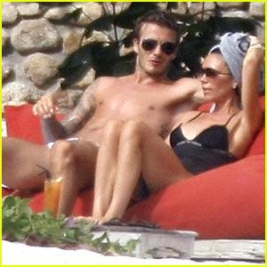 David & Victoria Beckham: Seychelles Sexy