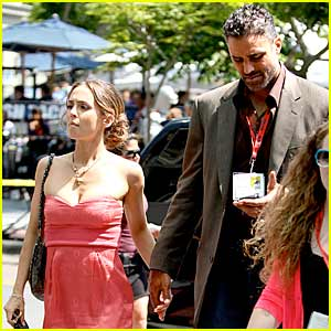 Eliza Dushku & Rick Fox: Comic-Con Couple