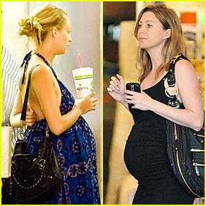 Ellen Pompeo & Nicole Richie: Pregnant Pretty