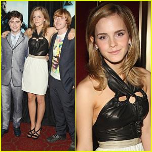 Emma Watson is Ziegfeld Zexy
