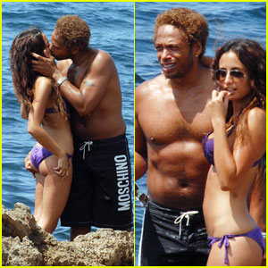 Gary Dourdan is Ibiza Shirtless