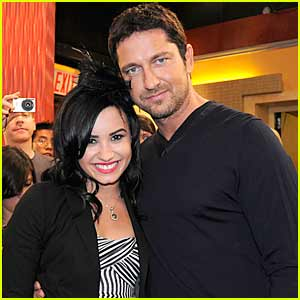 Gerard Butler & Demi Lovato: Good Morning America!
