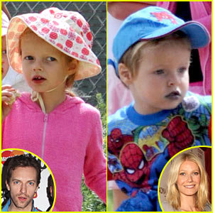 Gwyneth Paltrow's Kids: Snow Cone Sweet