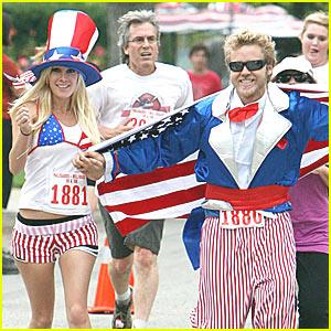 Heidi Montag & Spencer Pratt: Happy Fourth of July!