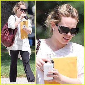 Hilary Duff: Always Coca-Cola...