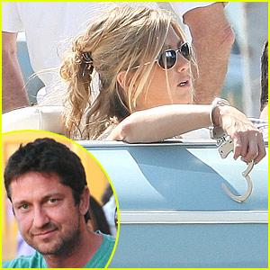 Jennifer Aniston Handcuffs Gerard Butler