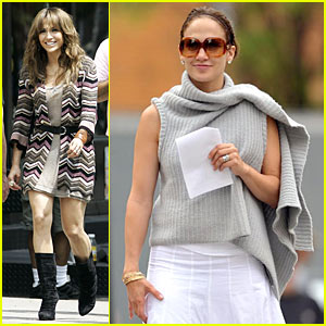 Jennifer Lopez Backs It Up