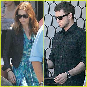 Justin Timberlake & Jessica Biel: Cecconi's Sweethearts