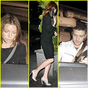 Justin Timberlake & Jessica Biel: Magnolia Magnificent