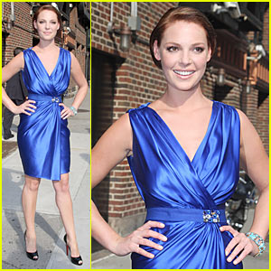 Katherine Heigl: Quite the Looker at Letterman