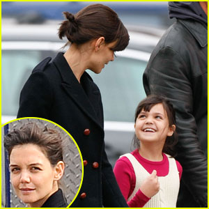Katie Holmes: Buddies with Bailee Madison!