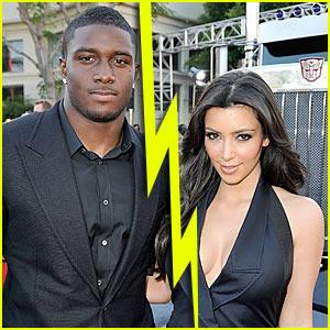 Kim Kardashian & Reggie Bush Split