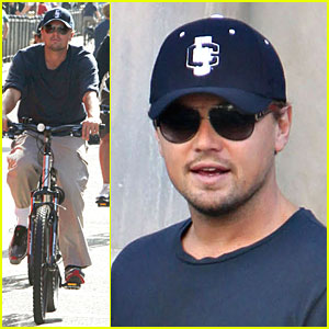 Leo DiCaprio is a Bad Boy Biker