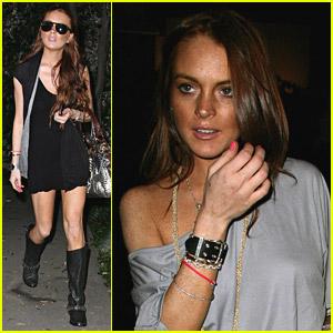 Lindsay Lohan's New Hairdo