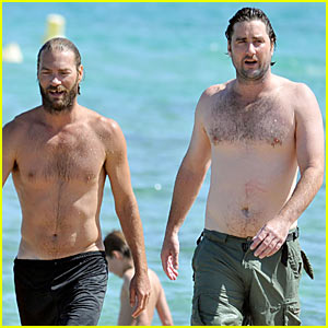 Luke Wilson: Shirtless in Saint Tropez