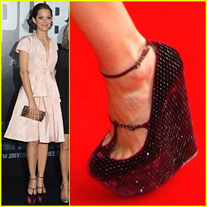 Marion Cotillard: Platform Wedges Wonderful