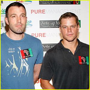 Matt Damon & Ben Affleck: Poker People