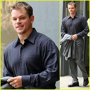 Matt Damon is Da Silvano Smiley
