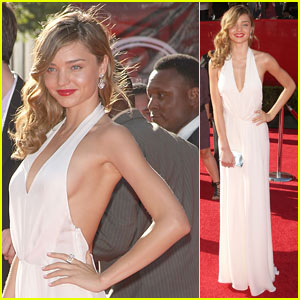 Miranda Kerr Hits ESPY Awards 2009