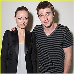 Olivia Wilde & Garrett Hedlund: Tron at Comic-Con
