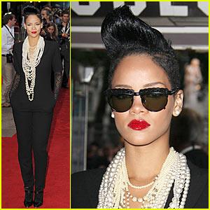 Rihanna is an Inglourious Basterd