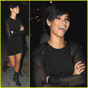 Rihanna Takes To Tattoos