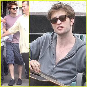 Robert Pattinson Sports Cuts & Bruises