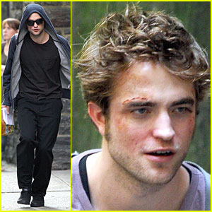 Robert Pattinson is in the Hood
