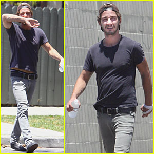 Shia LaBeouf Kicks It With Calvin Klein