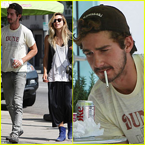 Shia LaBeouf: Lady, Got a Light?