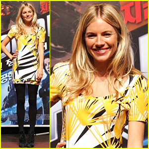 Sienna Miller: G.I. Joe Sent To Seoul