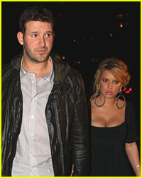 Tony Romo To Security: Keep Jessica Simpson Out!