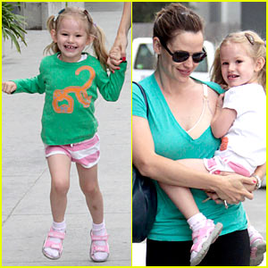 Violet Affleck is Pigtails Pretty