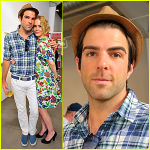 Zachary Quinto Loves Himself Some Jessica Lange