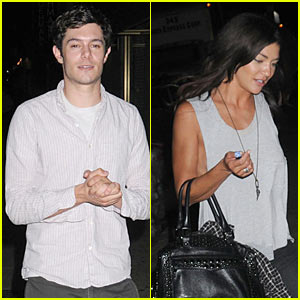 Adam Brody &#038; Jessica Szohr: Dinner Date!
