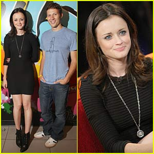 Alexis Bledel Fuses With Zach Gilford