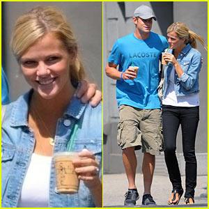 Andy Roddick & Brooklyn Decker: Coffee Couple
