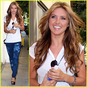 Audrina Patridge Heads To The Hair Salon