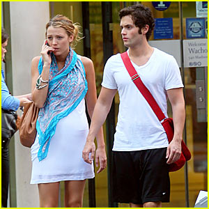 Penn Badgley's Birthday Gift To Blake Lively -- Paintings!