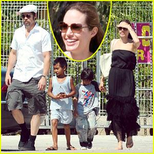 Brad Pitt & Angelina Jolie: Gerbils Galore!