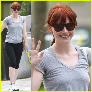 Bryce Dallas Howard is Toned Up For Twilight