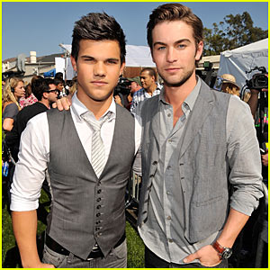 Taylor Lautner & Chace Crawford: Teen Choice Award Winners