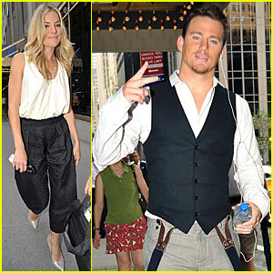 Channing Tatum is Suspenders Sexy