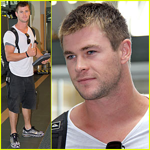 Chris Hemsworth is Thunder God Thor