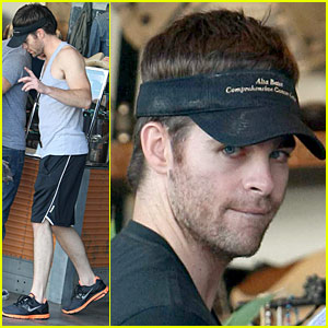 Chris Pine Shops Ralph Lauren RRL
