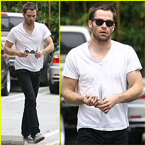 Chris Pine Excited About Star Trek 2