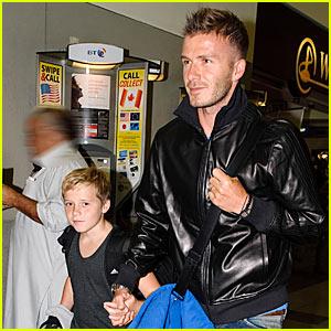 David Beckham: Beating Roger Federer is Incredible