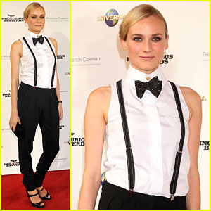 Diane Kruger Serves Up Suspenders