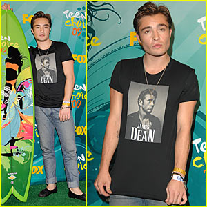Ed Westwick: Teen Choice Awards' Choice TV Villain