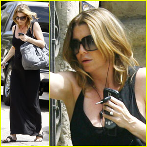 Ellen Pompeo is Blackberry Black
